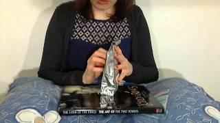 ASMR teabag crinkles