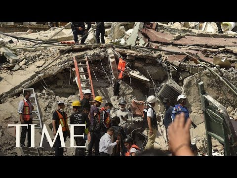 Download Youtube: More Than 100 Dead After 7.1-Magnitude Earthquake In Mexico, Rescuers Search For Survivors | TIME