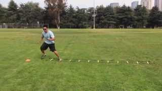 Agility/Footwork Drills: 2 Way Lateral Gauntlet | Sweat City Athletic Performance Training