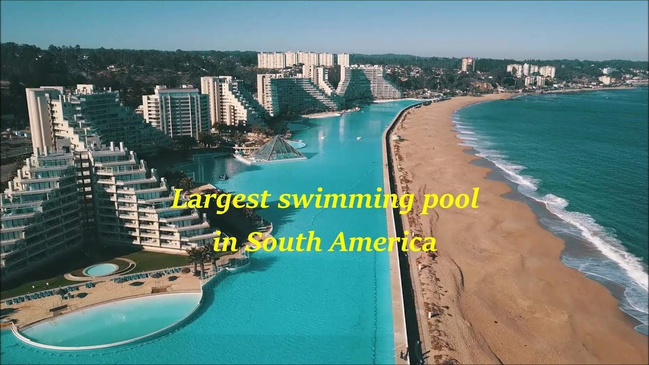 Worlds Largest Outdoor Pool At Chiles San Alfonso Del Mar Resort >> San Alfonso Del Mar Swimming Pool At Algarrobo In Chile