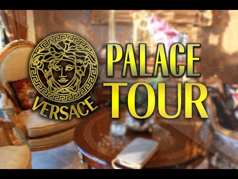 $4,000,000 VERSACE PALACE HOUSE TOUR!