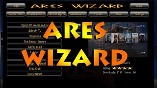 XBMC/KODI -HOW TO INSTALL  BEST WIZARD!!!ARES WIZARD.