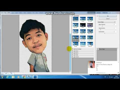 สอนแต่งรูป การตูนหัวโตๆ โดย A.S.N.P Photoshop