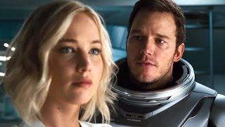 Passagers avec Jennifer Lawrence