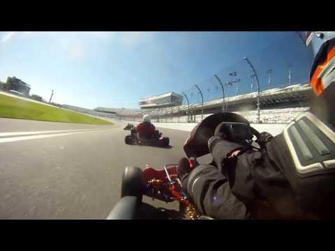 On-Board WKA Daytona - Stock Honda CR125 Kart Race