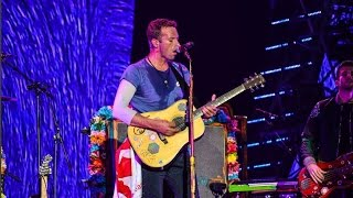 Coldplay Performs at  Global Citizen Festival 2016 In India