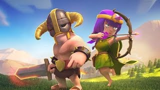 Clash of clans - barbarian level 7 & Archer level 7 upgrades.