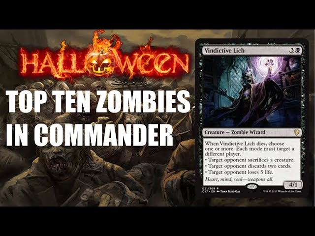 Top Ten Mtg Best Zombie Cards In Commander Youtube More information on orzhov signet in europe's largest online marketplace for magic: top ten mtg best zombie cards in