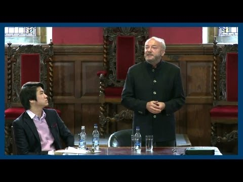 Palestine and Al Qaeda | George Galloway | Oxford Union