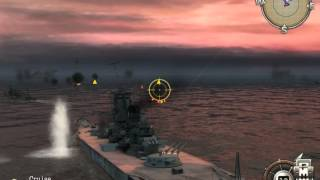 """Battlestations: Midway. Singleplayer mission """"Might of the Yamato"""""""
