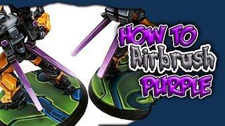 How To Paint Purple - Airbrush Hacks