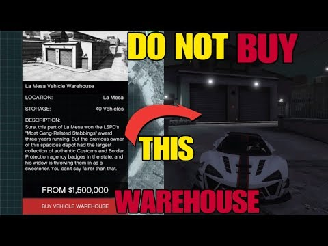 DO NOT BUY THIS VEHICLE WAREHOUSE (Buying Guide + Stealing Cargo) GTA 5 Online Import/Export DLC