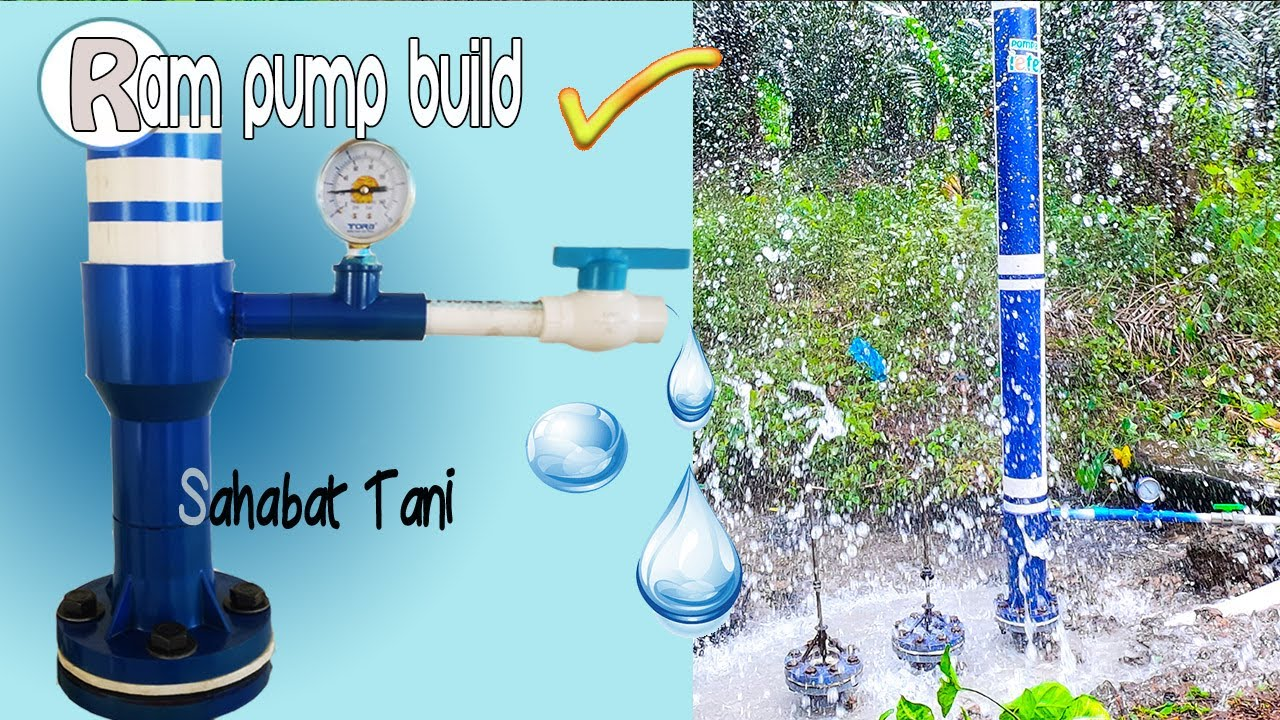 Pompa Hidram IETEUGA Aceh, Inspirasi untuk Petani mengatasi krisis air di Pedesaan | Ram Pump