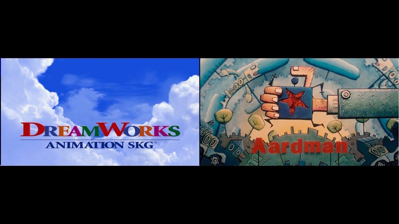 dreamworks animation aardman logo