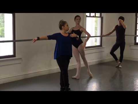 Advance Ballet Class by Lourdes Albarellos