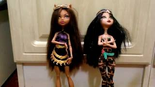 Конкурс на куклу Монстер хай