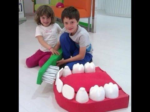 Conocer la boca y los dientes youtube for Manualidades con palillos de dientes