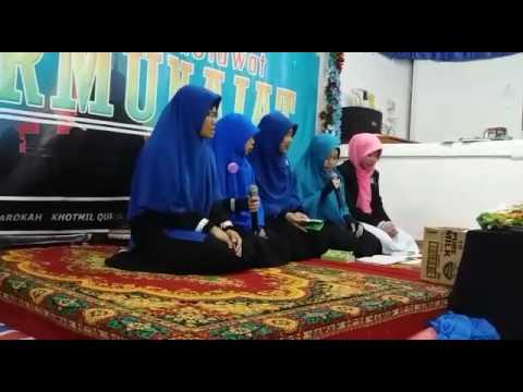 Asmaul Husna Versi Sholawat Badar Putri Muslimah Salikul Lail Hongkong
