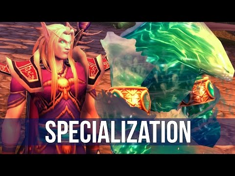 World of Warcraft: Choosing Our Specialization - Ep. 2! (Let's play WoW)