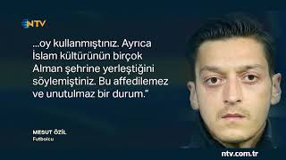 Mesut Özil: ''Kazadığımızda Alman, kaybettiğimizde göçmen oluyorum''