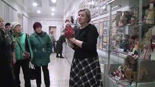 Сюжет от 12.11.2019: Выставка традиционных русских кукол в городском музее