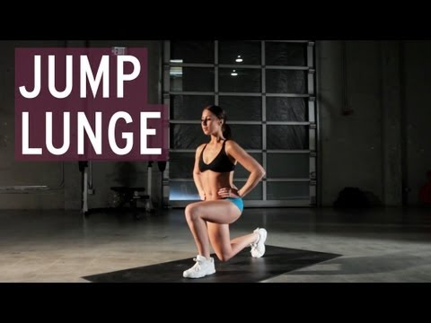 Jump Lunge XFit Daily