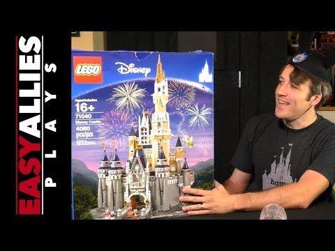 Brandon Builds the LEGO Disney Castle (Pt. 1)