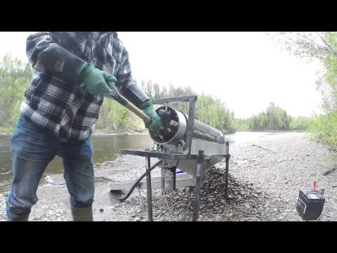 Gold prospecting in Sweden jun 2015