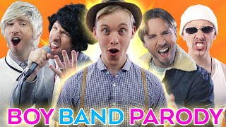 Boy Band Parody A CAPPELLA! - PAINT & Peter Hollens