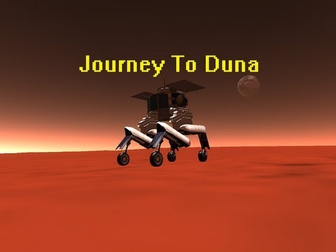 Kerbal Space Program-Duna Rover (stock) - YouTube