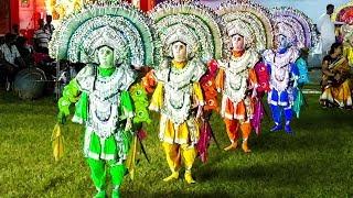 chhau dance purulia    छो नाच    ছৌ নাচ