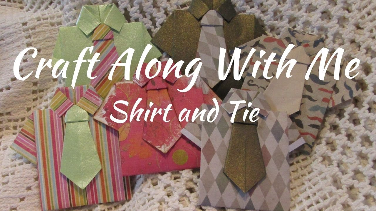 Craft Along With Me Shirt and Tie