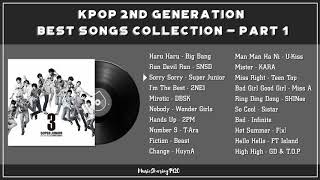 RECALL THE YOUTH: KPOP 2ND GENERATION BEST SONGS COLLECTION - PART 1 | TUYỂN TẬP KPOP GEN 2 HAY NHẤT