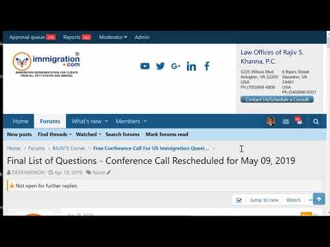Podcasts and Video | US Immigration Lawyer, Law Offices of