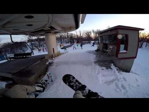 Wachusett Mountain Snowboarding Session
