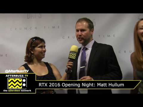 Matt Hullum @ RTX 2016 Opening Night