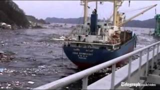 Unseen footage of Japan tsunami released