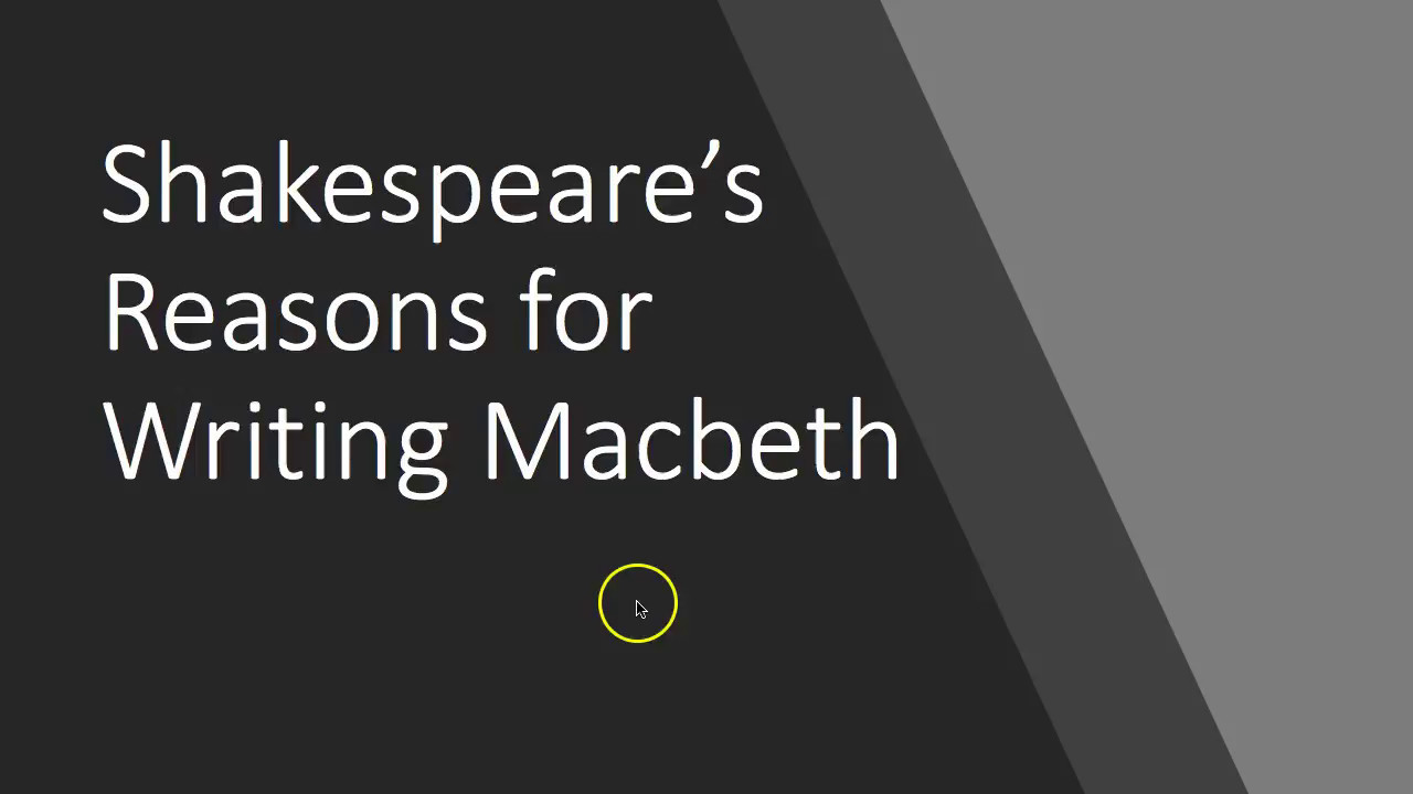 the reasons for the downfall of shakespeares macbeth The thane of cawdor macbeth is filled with  which ignites macbeth's ambition and his epic downfall  crown falls to macbeth, but there are three reasons that.