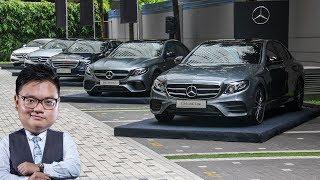 QUICK LOOK: W213 Mercedes-Benz E-Class MY2018 range updates