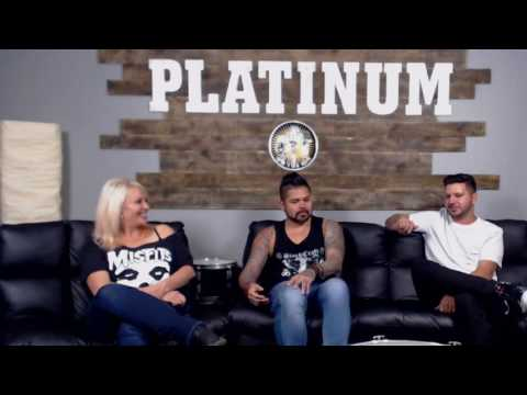 Platinum Music Complex TV interview with Murder the Name band members Jasen & Jude