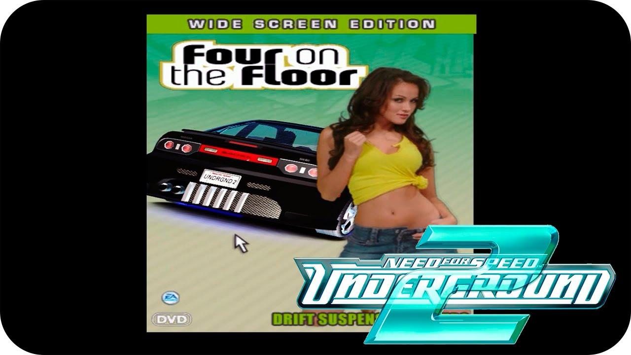 Need For Speed Underground 2 08 Capa De Dvd Four On The Floor