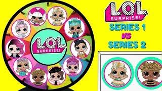 Сюрприз серії ржунімагу 1 серія проти 2 прядка іграшок-сюрпризів