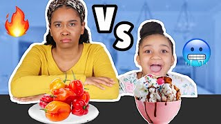 What's up KDoubleA Fam!!! Today we're doing the #Spicy vs Cold Food Challenge! THANK YOU FOR WATCHING!!! LEAVE A COMMENT FOR A SHOUTOUT!