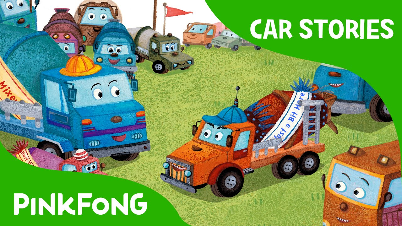 competition in mixie land car stories pinkfong story time for children youtube