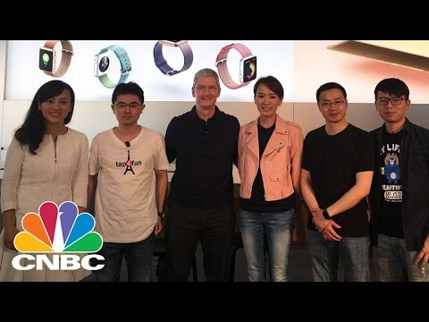Tim Cook's China Charm Tour | CNBC