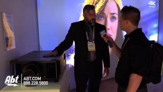 Sony 4K Home Theater Projector VPL-VW5000ES - Abt CES 2016