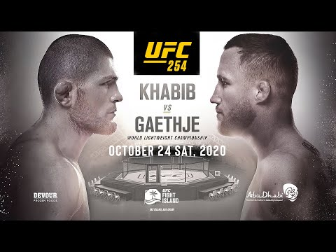 UFC : Khabib Nurmagomedov Vs Justin Gaethje 'Highlights On Fight Island' Promo Trailer, Abu Dhabi