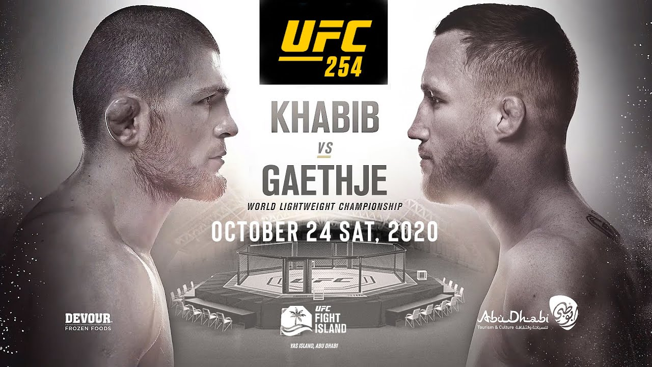 Khabib Vs Gaethje Promo So We Got The Lightweight Champion Versus Inerim Lightweight Champion And This Is The Fight Who Everyone Want S To See In 2020