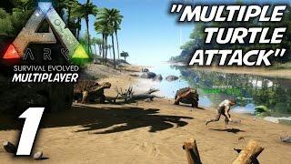 ARK: Survival Evolved Multiplayer Gameplay / Let