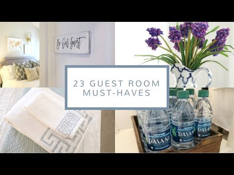 23 Guest Room Must-Haves | House Guest Prep